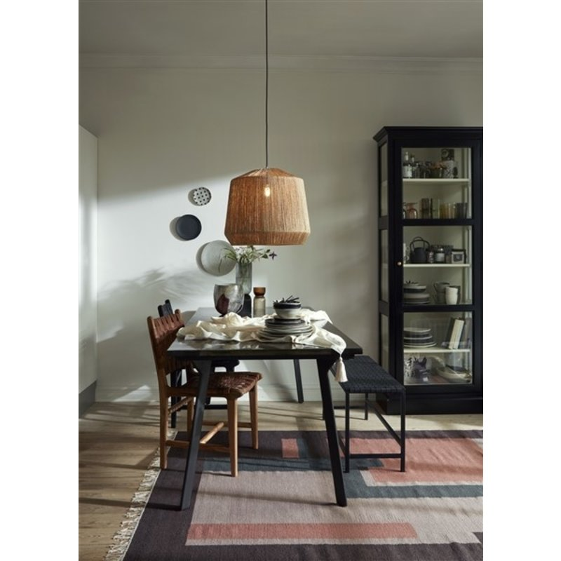 Nordal-collectie BLUSH woven rug, plum/rose/lavender