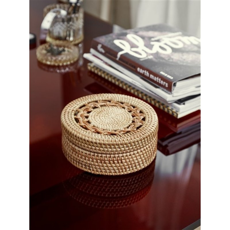 Nordal-collectie BOXI rattan box col. nature