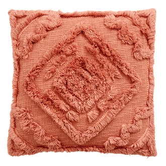 Nordal SHAGGY cushion cover, old rose
