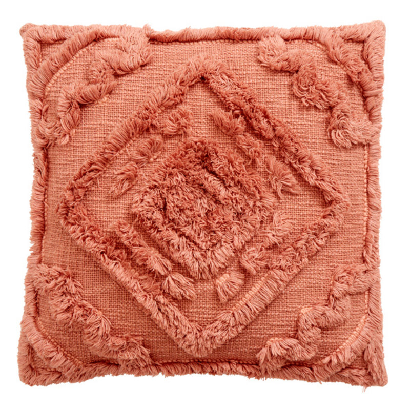 Nordal-collectie SHAGGY cushion cover, old rose