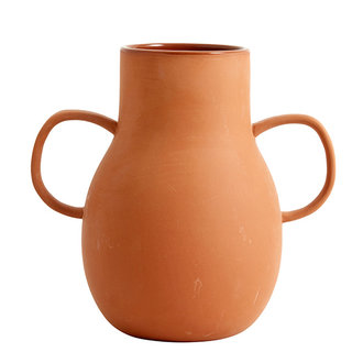 Nordal PROMISE clay vase, Small, 2 handles