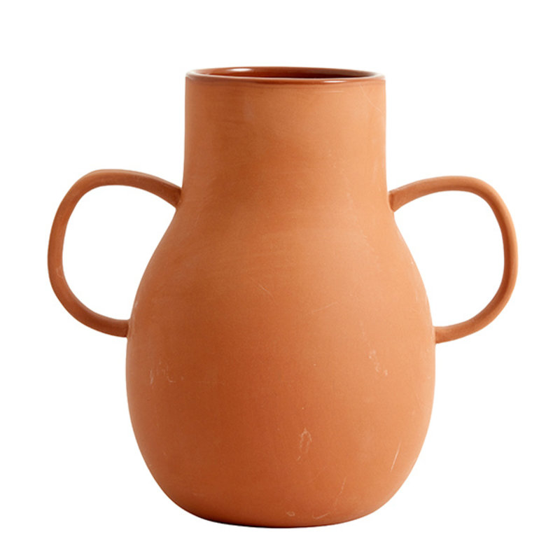 Nordal-collectie PROMISE clay vase, Small, 2 handles