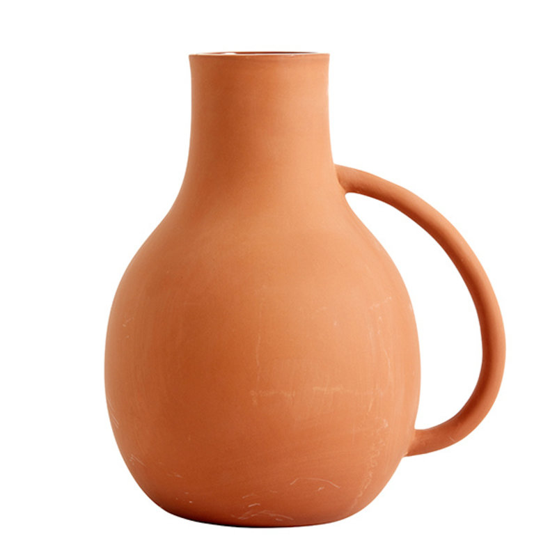 Nordal-collectie PROMISE clay vase w. 1 handle