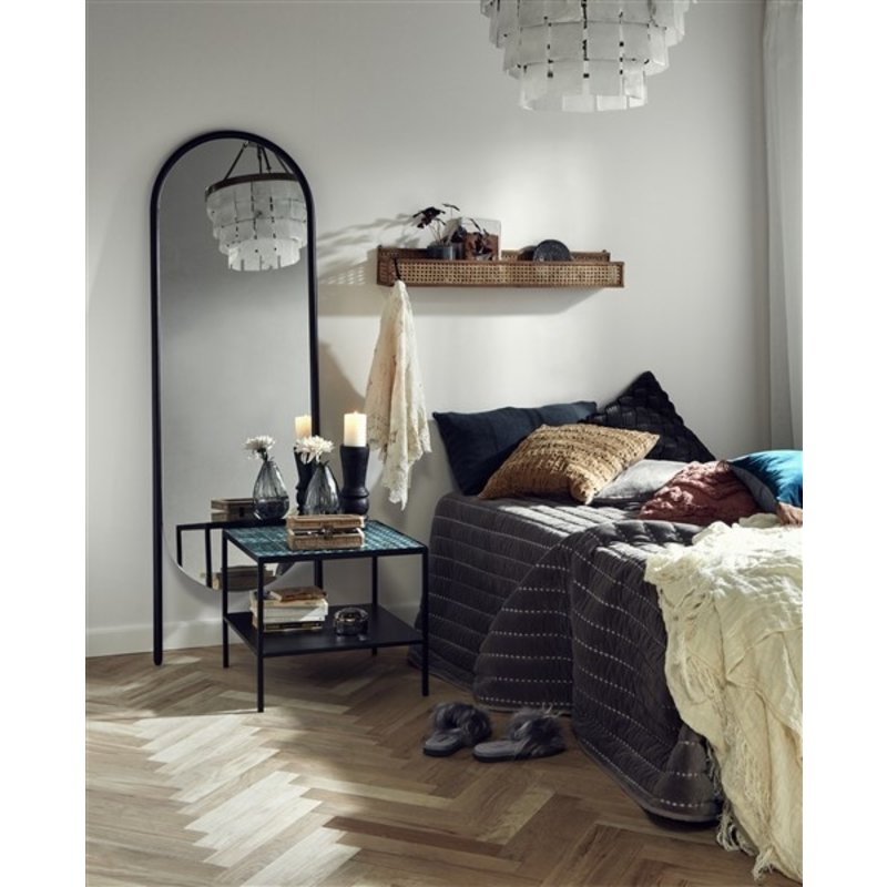 Nordal-collectie WONDER stand mirror, col. black