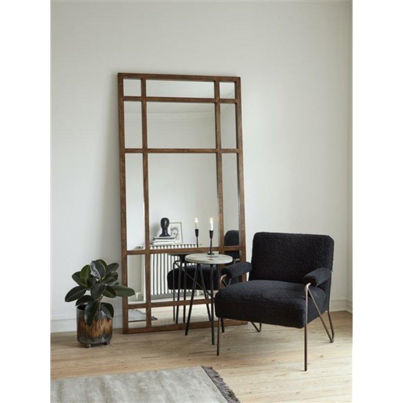 Nordal-collectie SPIRIT wall mirror, col. birch wood