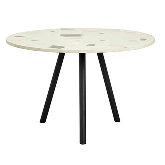 Nordal TERRAZZO dining table, pistachio green