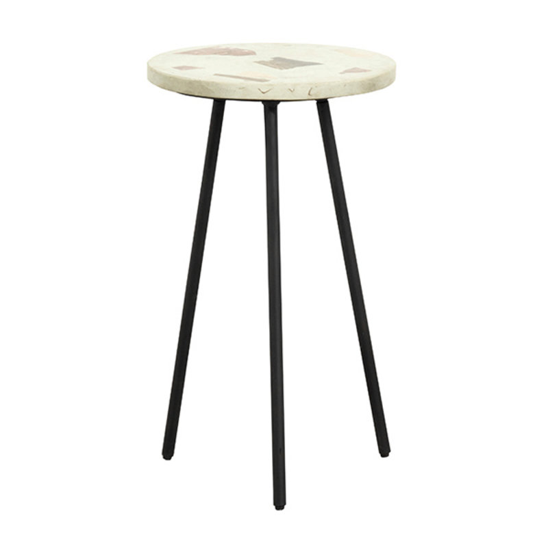 Nordal-collectie TERRAZZO side table, pistachio green