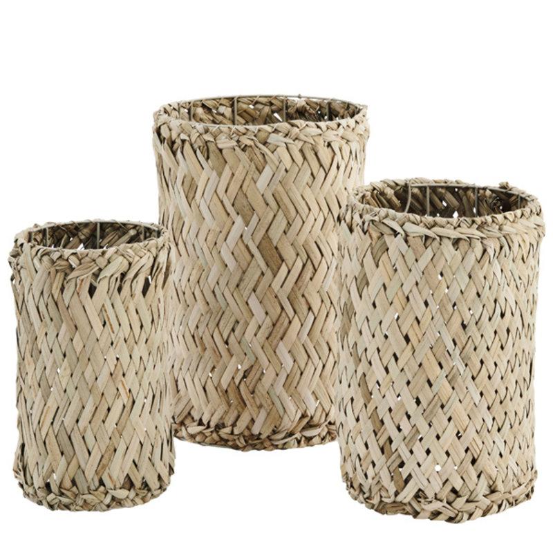 Madam Stoltz-collectie Grass wicker baskets