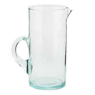 Madam Stoltz Beldi glass jug transparant