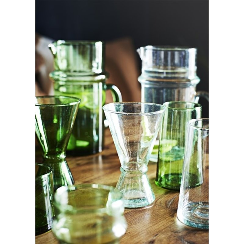 Madam Stoltz-collectie Beldi wine glass transparant