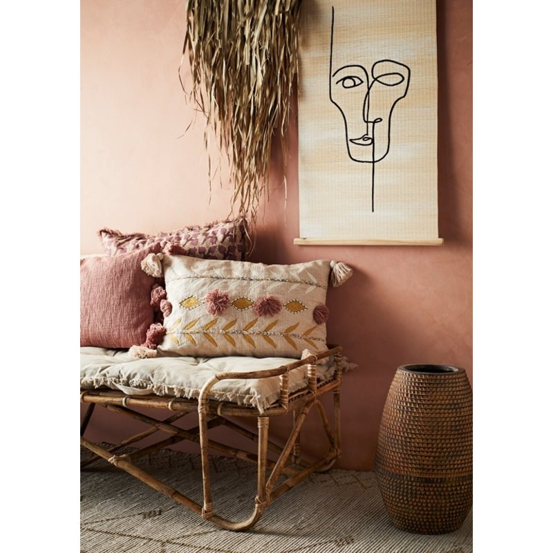 Madam Stoltz-collectie Palm leaf wall deco