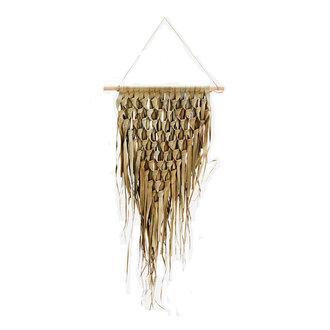 Madam Stoltz palmblad wanddecoratie