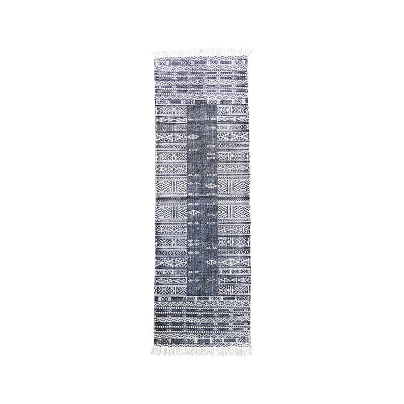 House Doctor-collectie Rug Julia Black/White Size may vary