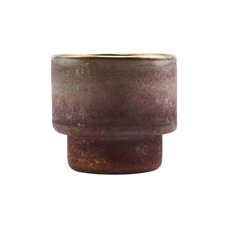 House Doctor-collectie Tealight Forrest Henna Finish/Colour may vary
