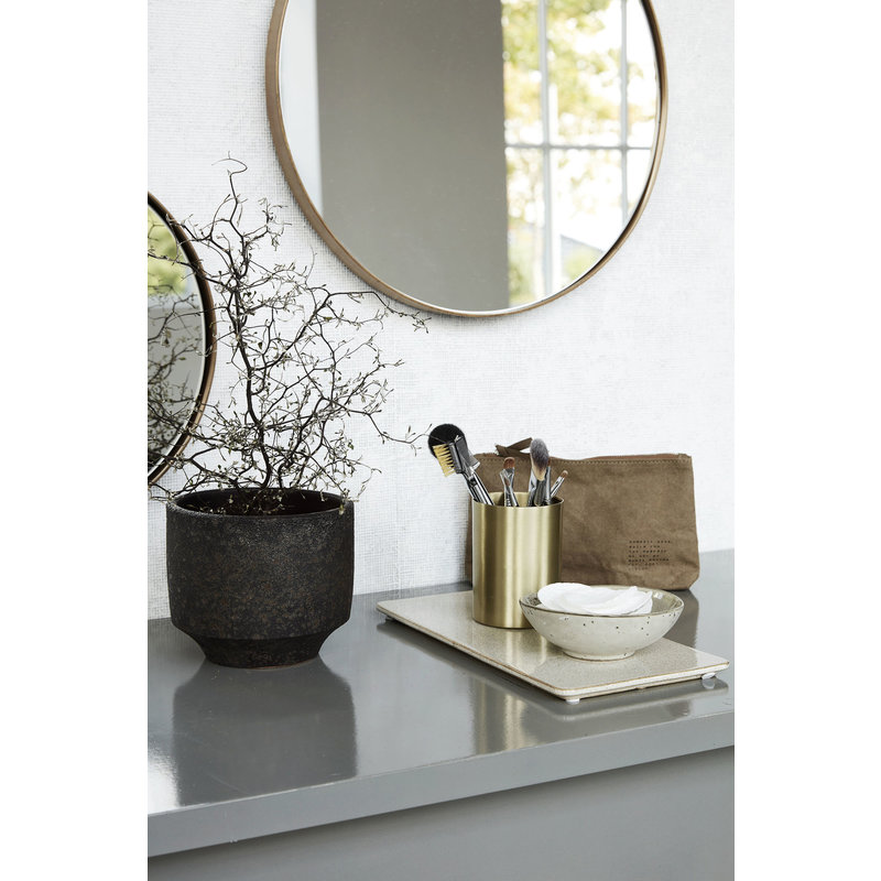 House Doctor-collectie Plate Ivy Sand