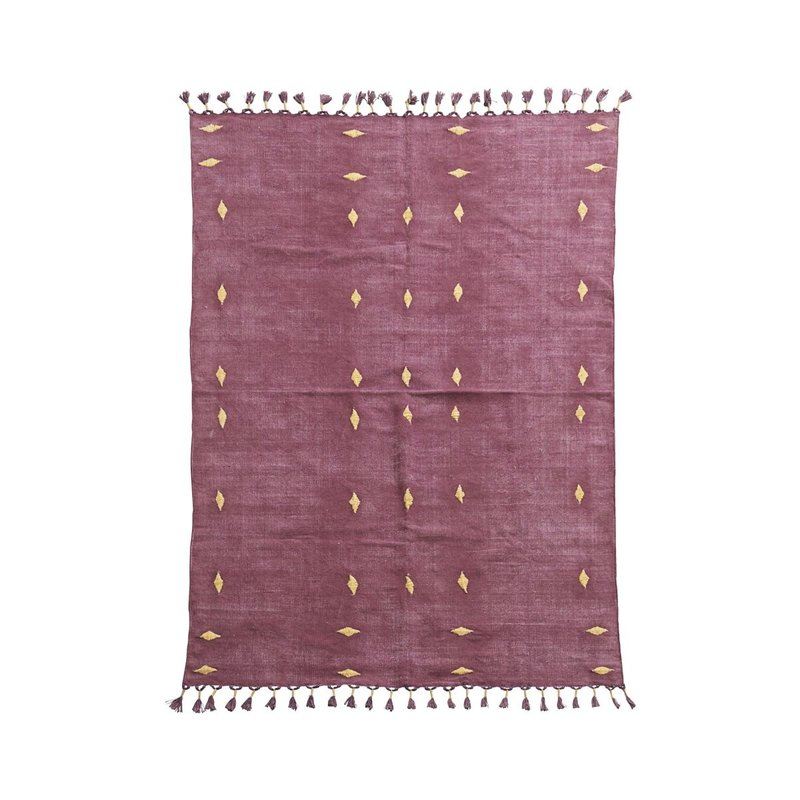 House Doctor-collectie Rug Backside Wine