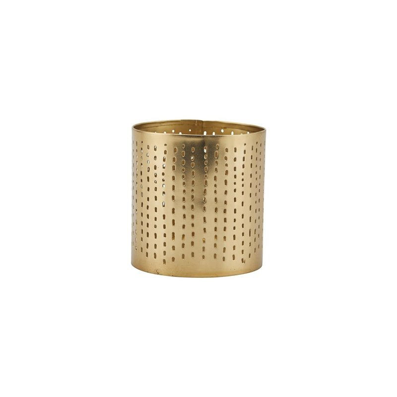 House Doctor-collectie Tealight Wilma Brass finish