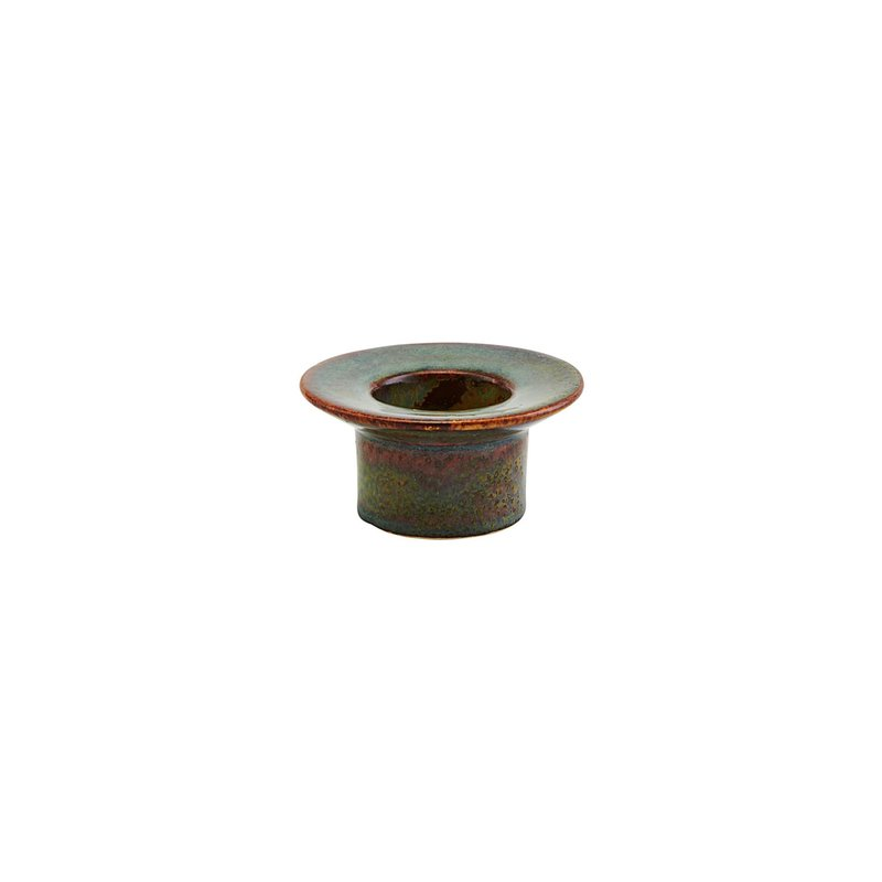 House Doctor-collectie Tealight Miro Green/Brown Finish/Colour may vary
