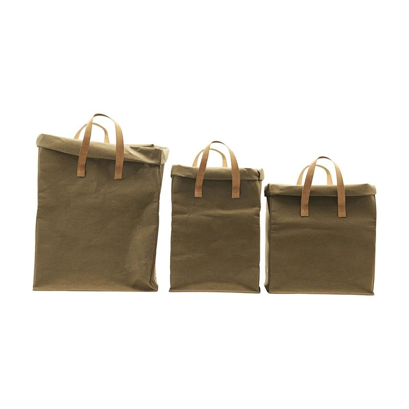 House Doctor-collectie Storage Craft Army Set of 3 sizes