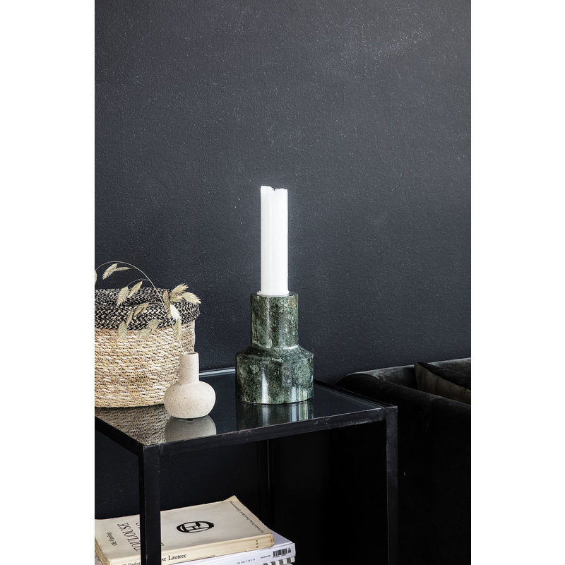 House Doctor-collectie Candle stand Chunk Green Finish/Colour may vary