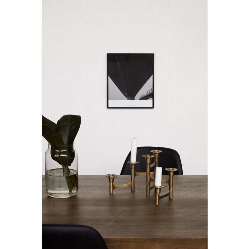 House Doctor-collectie Illustration w. frame, Prospections 03, Black, By Anders Hvenegaard