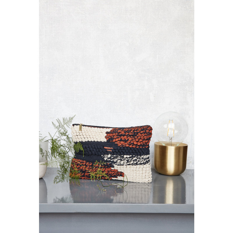 House Doctor-collectie Clutch, Combo 2, Black/Ivory