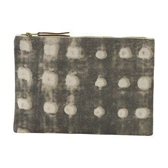 House Doctor Cosmetic bag, Dots, Grey
