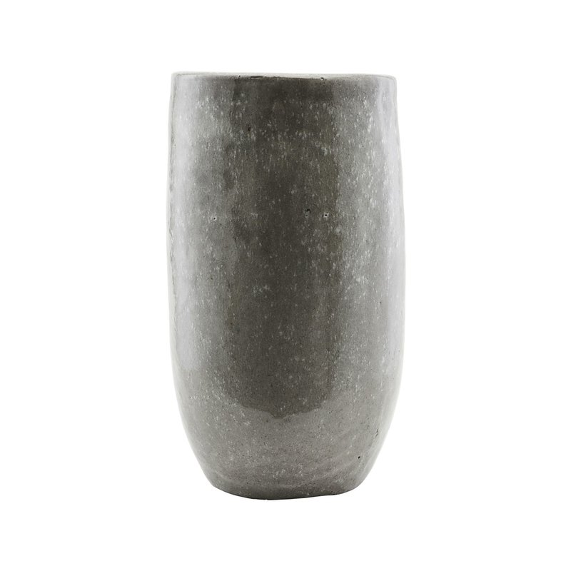 House Doctor-collectie Planter, Earth, Green/Grey, Outdoor use, Finish/Colour may vary