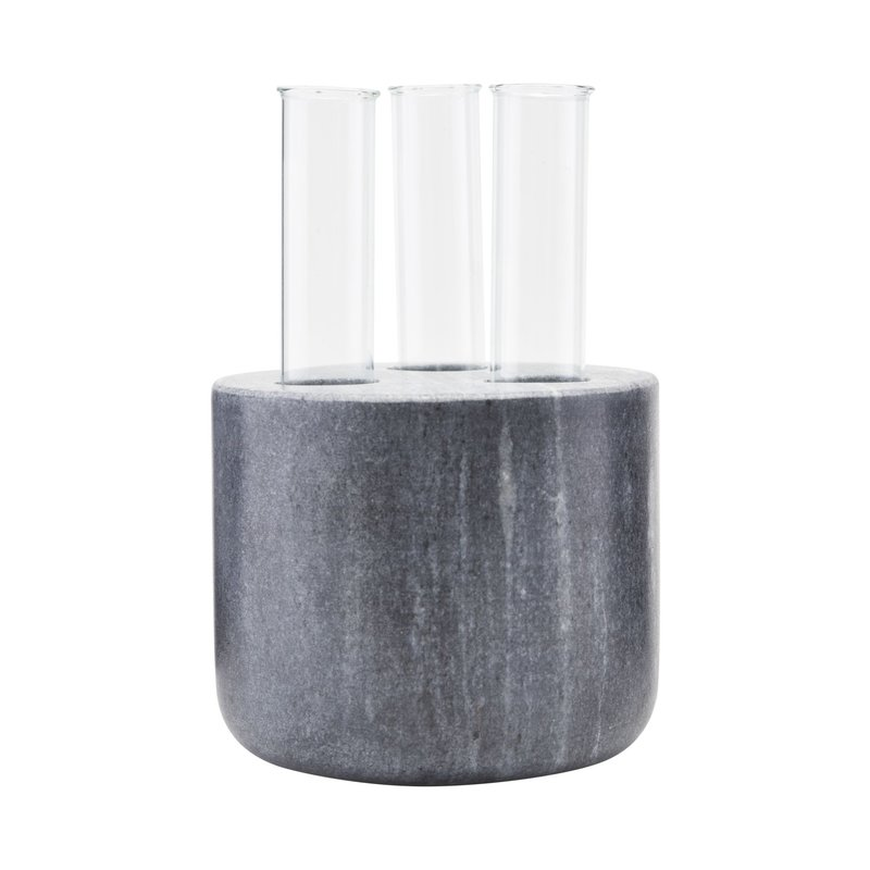 House Doctor-collectie Vase, The tube, Black
