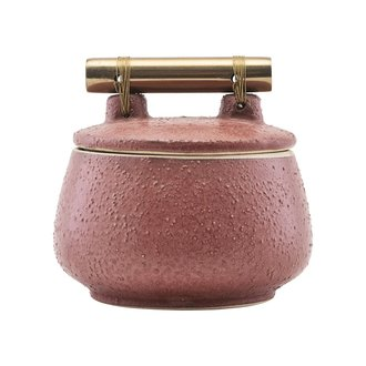 House Doctor Storage w. lid, Diva, Burnt henna, Finish/Colour may vary