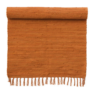 Bungalow Rug Chindi mat Orange