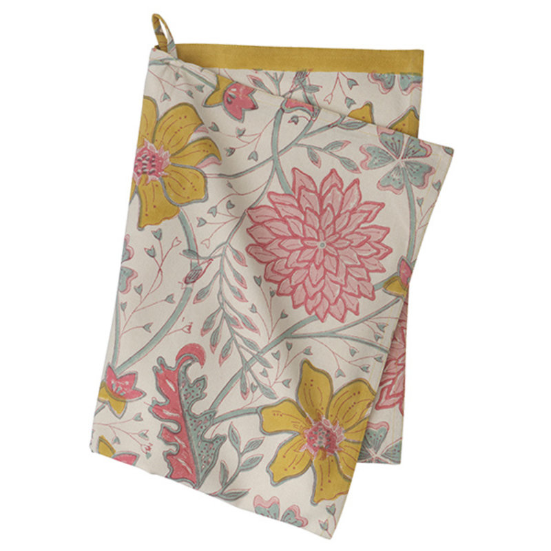 Bungalow-collectie Kitchen Towel Sitapur Sangria