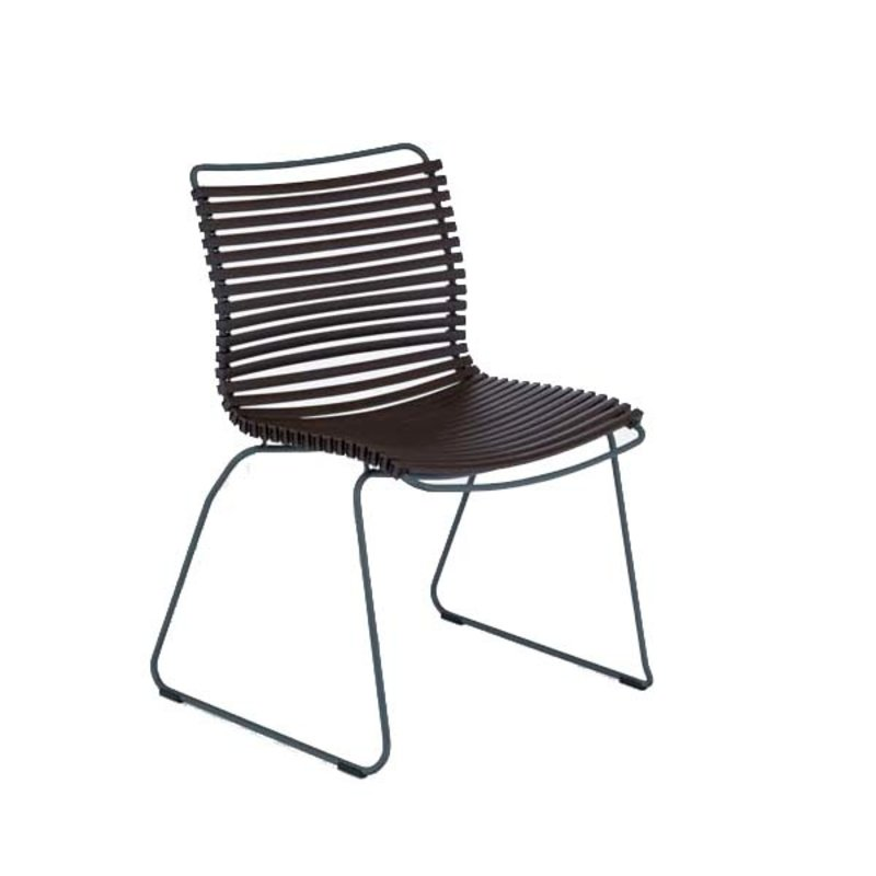 Houe-collectie CLICK Dining Chair without armrests dark brown