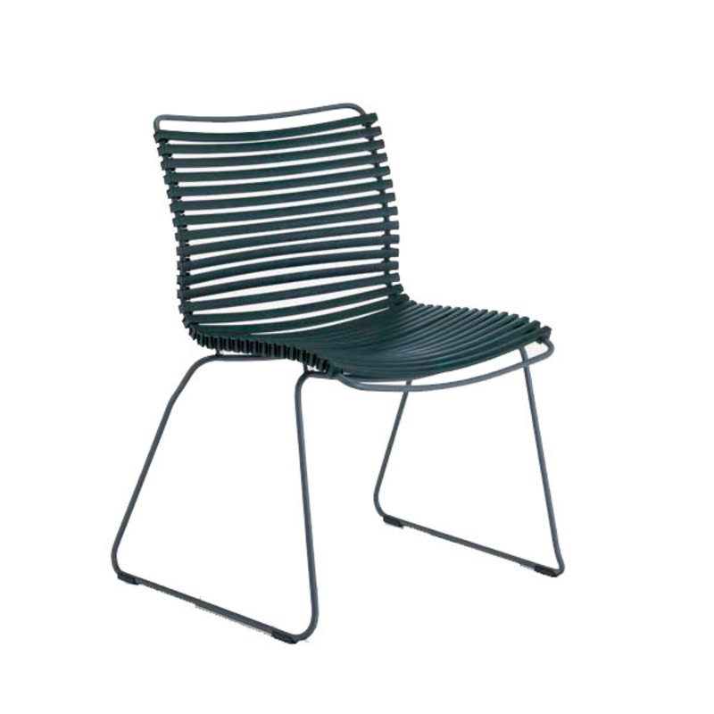 Houe-collectie CLICK Dining Chair without armrests pine green