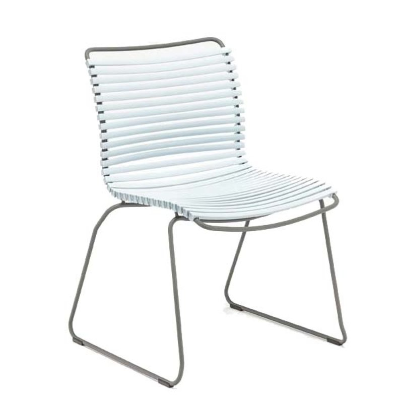 Houe-collectie CLICK Dining Chair without armrests dusty blue
