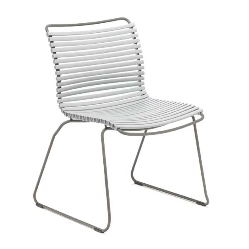 Houe-collectie CLICK Dining Chair without armrests grey