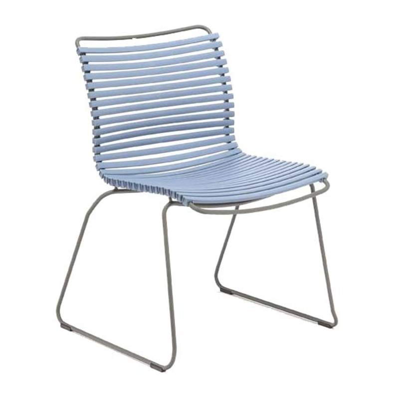 Houe-collectie CLICK Dining Chair without armrests pigeon blue