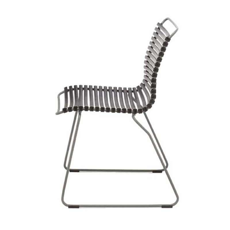 Houe-collectie CLICK Dining Chair without armrests zwart