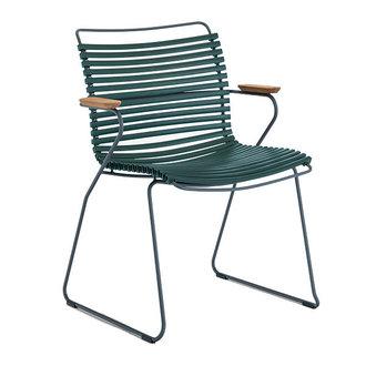 Houe CLICK armchair tuinstoel pine green