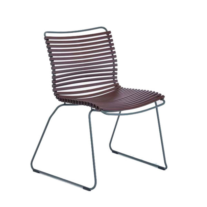 Houe-collectie CLICK Dining Chair without armrests plum