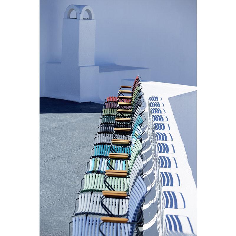Houe-collectie CLICK armchair tuinstoel pigeon blue