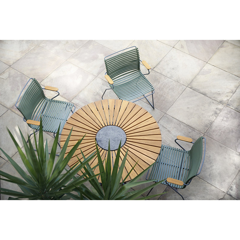 Houe-collectie CLICK armchair tuinstoel dusty green