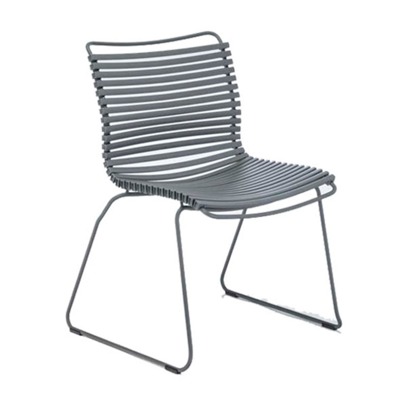 Houe-collectie CLICK Dining Chair without armrests dark grey