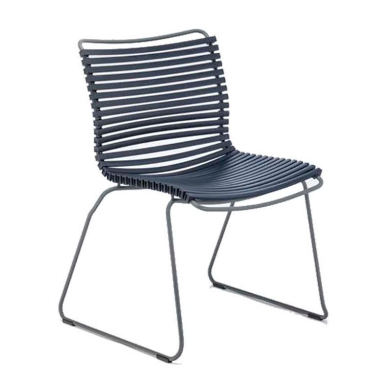 Houe-collectie CLICK Dining Chair without armrests dark blue