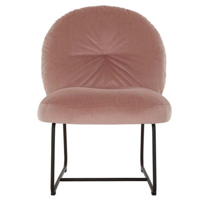 MUST Living-collectie Loungestoel Bouton roze