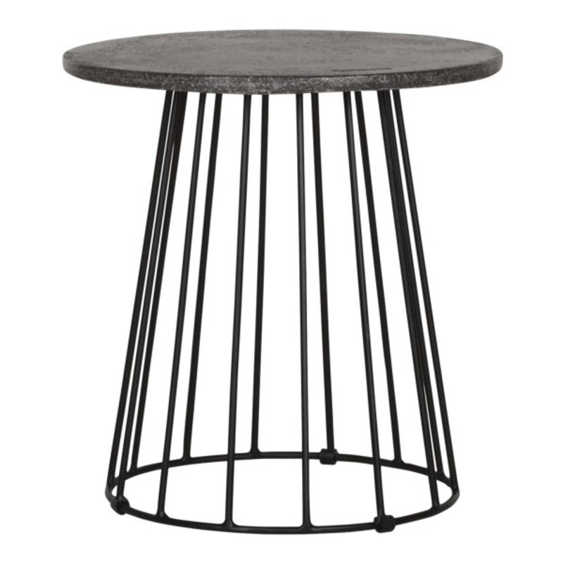 MUST Living-collectie Side table Mont Blanc round Ø45