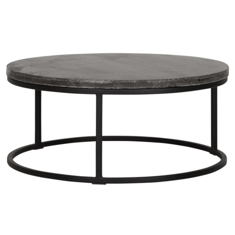 MUST Living-collectie Coffee table Mont Blanc round Ø80
