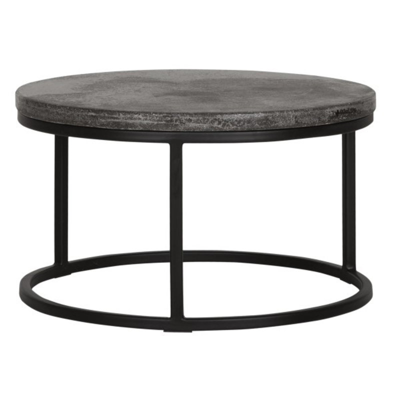 MUST Living-collectie Coffee table Mont Blanc round Ø60