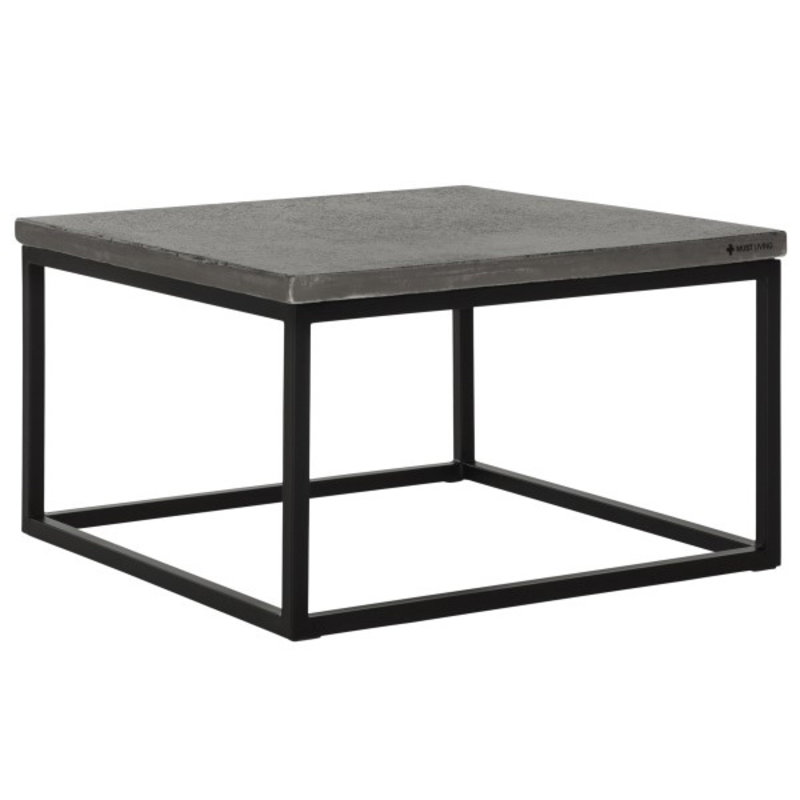 MUST Living-collectie Coffee table Mont Blanc square