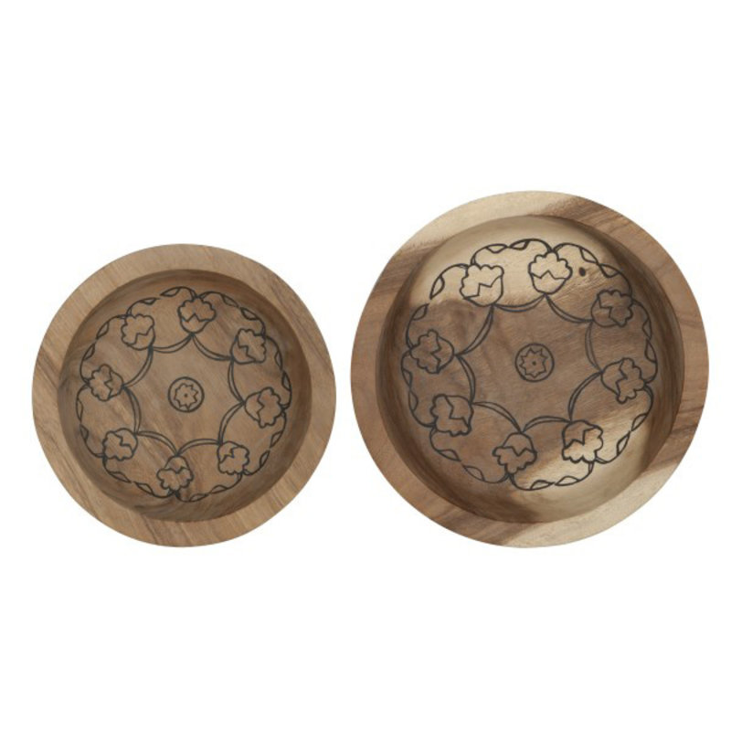 MUST Living-collectie Bowls Mandala, set of 2